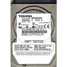 Toshiba MK5055GSX HDD2H21 C ZL01 S 500GB CHINA F/W: A0/FG001A