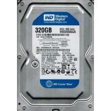 Western Digital WD3200AAJS-00YZCA0 DCM: HBNNNTJAEN 160GB