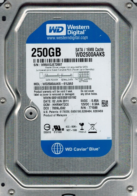 WD2500AAKS WINDOWS 10 DRIVER