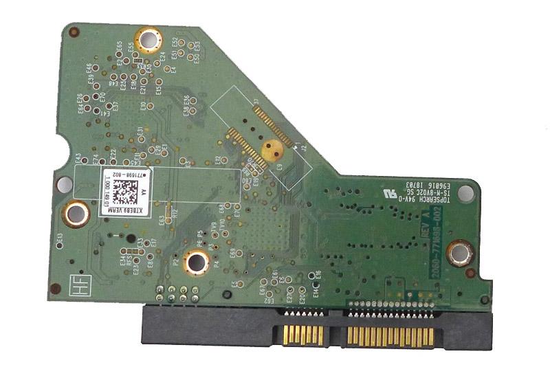 WD30EZRX-00MMMB0 REV A 2061-771698-802 AA WD SATA 3.5 PCB
