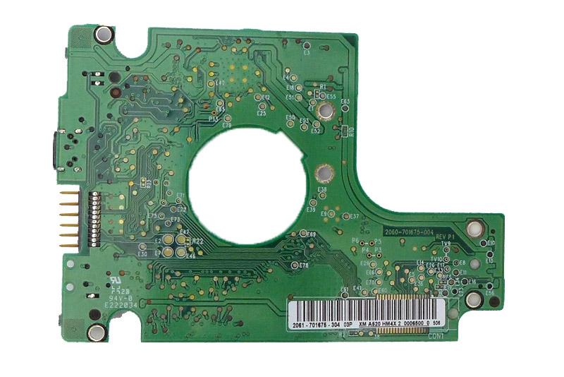 WD10TMVV-11A27S2 2061-701675-401 02P WD USB 2.5 PCB