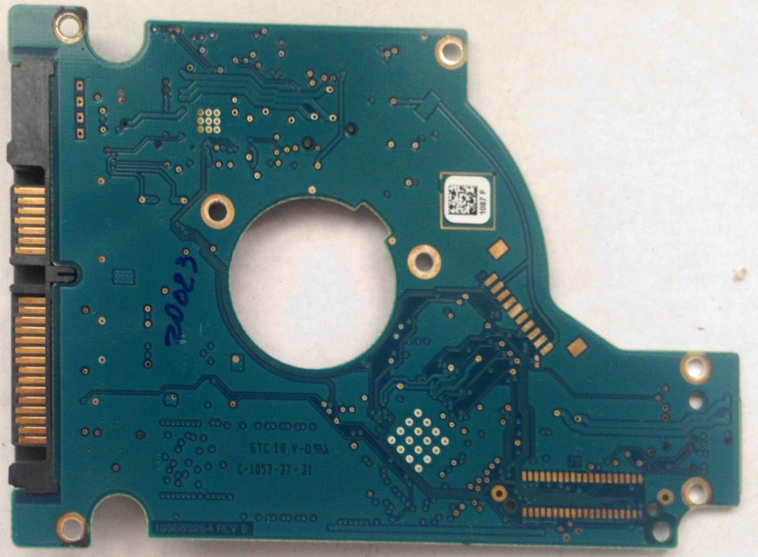Pcb St1500lm003 100609264 Rev B P N 9yh148 550 F W Cc9f Seagate Ebay St3000dm001 Hdd Hard Drive Circuit Board No 100664987 A