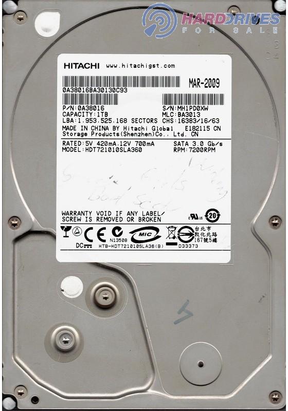HDT721010SLA360
