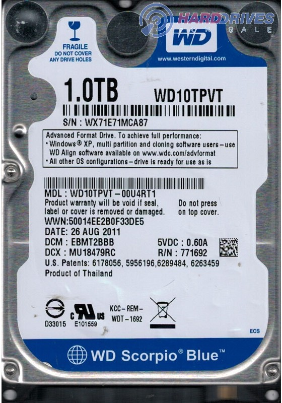 WD10TPVT-00U4RT1