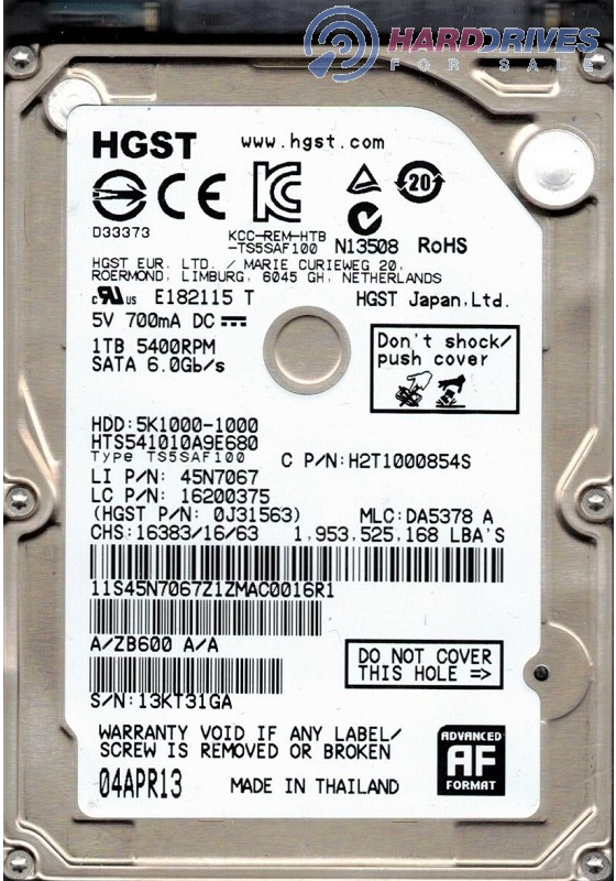 HTS541010A9E680
