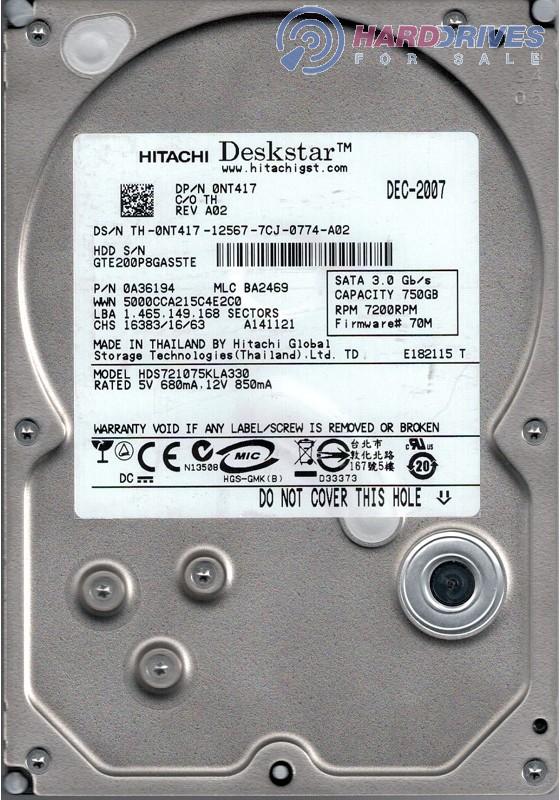 HDS721075KLA330
