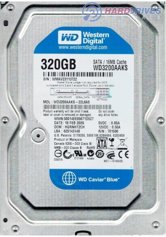 WD3200AAKS-22L6A0