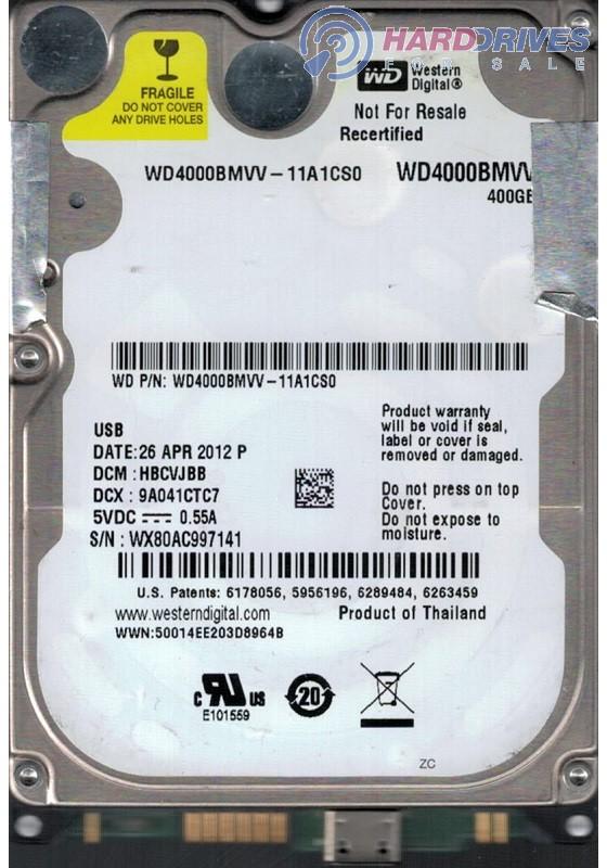 WD4000BMVV-11A1CS0