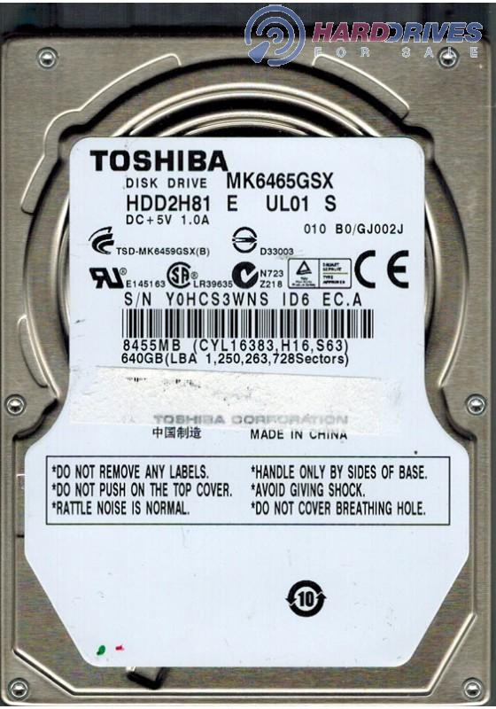MK6465GSX HDD2H81 E UL01 S