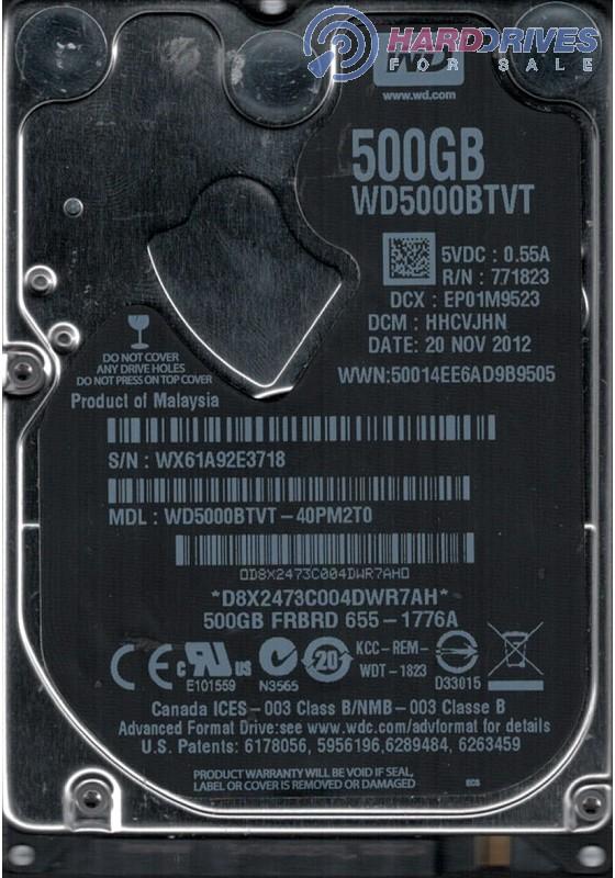 WD5000BTKT-40MD3T0
