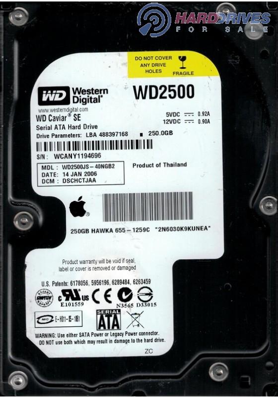 WD2500JS-40NGB2