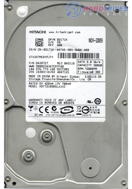 HDT721050SLA360