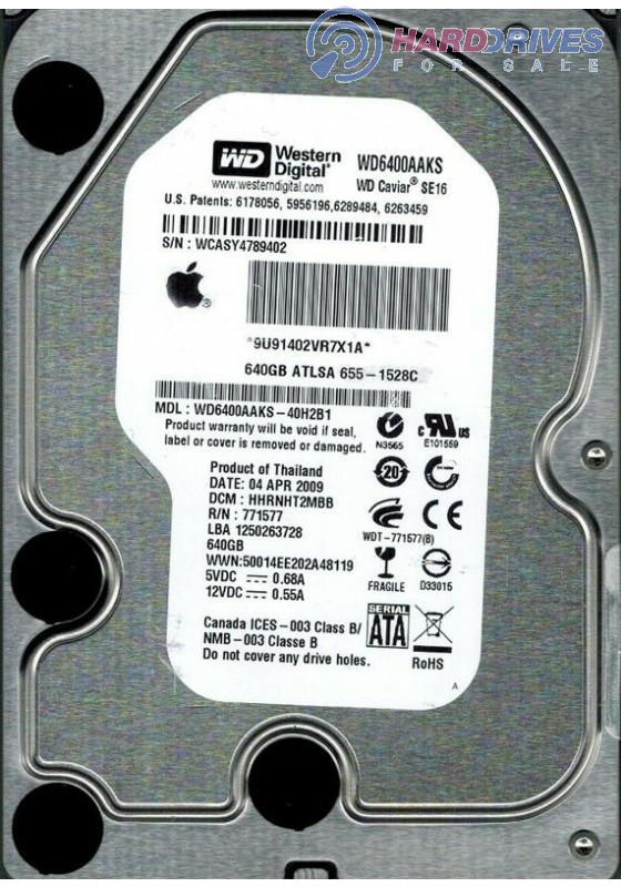 WD6400AAKS-40H2B1