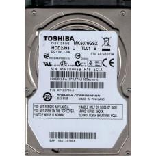 Toshiba MK5076GSX HDD2J93 U TL01 B 500GB CHINA F/W: A0/GS001A