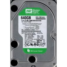 Western Digital WD6400AAVS-00G9B1 DCM: DANNHT2MGN 640GB