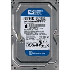 WD5000AAKS-40V6A0 DCM: HHRNNTJAHN MAC 655-1566A Western Digital 500GB