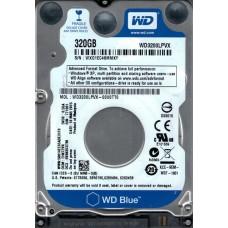 Western Digital WD3200LPVX-00V0TT0  DCM: EHKT2VK 320GB