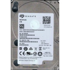 ST5000LM000 F/W: 0001 P/N: 2AN170-566 WU WCJ Seagate 5TB