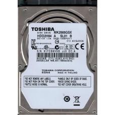 MK2565GSX HDD2H84 A SL01 B F/W: A0/GJ003A Toshiba 250GB