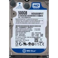 WD5000BPVT-55HXZT4