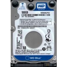 Western Digital WD5000LPCX-22VHAT1 500GB DCM: HAJTJAK