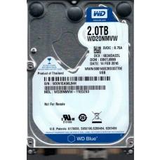 WD20NMVW-11EDZS3 DCM: EBKTJBBB WXN1E Western Digital 2TB