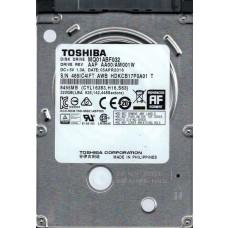 MQ01ABF032 AAP AA00/AM001W Toshiba 320GB Laptop Hard Drive