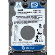 WD5000LPVT-00G33T0 DCM: HAOTJBNB WX51A Western Digital 500GB