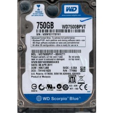 WD7500BPVT-80HXZT1