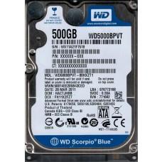 WD5000BPVT-80HXZT1