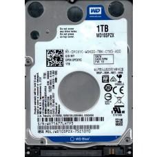 WD10SPZX-75Z10T0 DCM: HBNT2HK WXT1A Western Digital 1TB