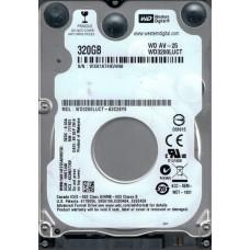 WD3200LUCT-63C26Y0 DCM: HHKTJAB WXA1A Western Digital 320GB