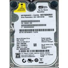 WD7500KMVV-11A27S2