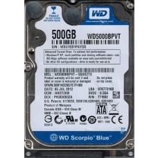 WD5000BPVT-55HXZT3