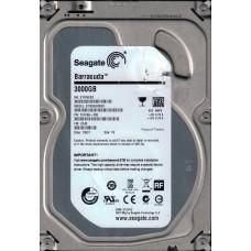 ST3000DM001 P/N: 1CH166-300 F/W: CC43 TK Z1F Seagate 3TB Desktop HDD
