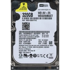 WD3200BUCT-63TWBY0