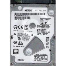 HTS725050A7E630 P/N: 0J47895 MLC: DA6661 HGST 500GB