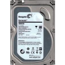Seagate ST3000DM001 P/N: 9YN166-300 F/W: CC46 3TB WU W1F