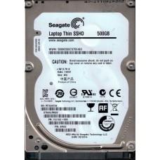 ST500LM000 P/N: 1EJ162-305 F/W: SM25 WU W76 Seagate 500GB