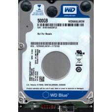 WD5000LMCW-11T31S3 DCM: HBMT2BK WX81A Western Digital 500GB