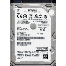 Hitachi HTS727550A9E364 P/N: 0J12281 MLC: DA4217 500GB Laptop HDD