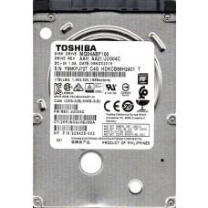 MQ04ABF100 AAH AA21/JU004C Toshiba 1TB