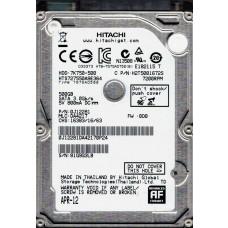"""Hitachi HTS727550A9E364 P/N: 0J12281 MLC: DA4217 500GB 2.5"""" HDD"""
