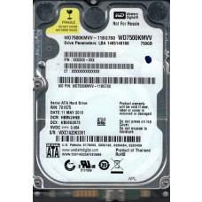 WD7500KMVV-11BG7S0 DCM: HBBVJHNB WXC1A Western Digital 750GB