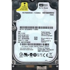 Western Digital WD7500KMVW-11ZSMS4 USB 3.0 DCM: HHMT2HNB 750GB