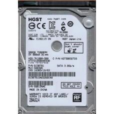 HGST HTS721050A9E630 P/N: 0J30701 MLC: DA6326 500GB