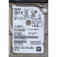 HTS541010A9E680 P/N: 0J22413 MLC: DA7280 HGST 1TB