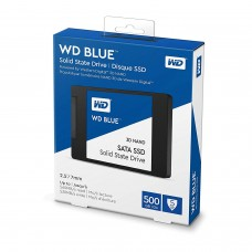 "WD Blue 3D NAND 500GB PC SSD - SATA III 6 Gb/s, 2.5""/7mm - WDS500G2B0A 512GB"