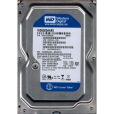 Western Digital WD5000AAKS-60WWPA0  DCM: EGRNKT2MGN 500GB