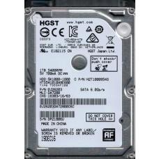 HTS541010A9E680 MLC: DA7280 P/N: 0J26203 HGST 1TB